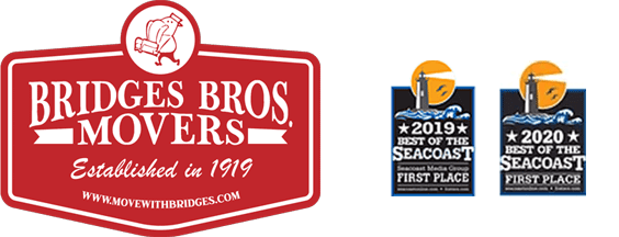 Bridges Bros. Movers logo and awards