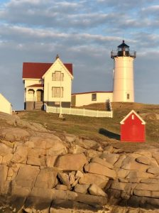 Nubble Point Light House in Maine
